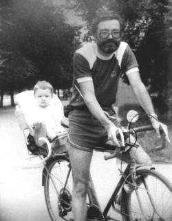 Pavel Protopopov and his son Anton